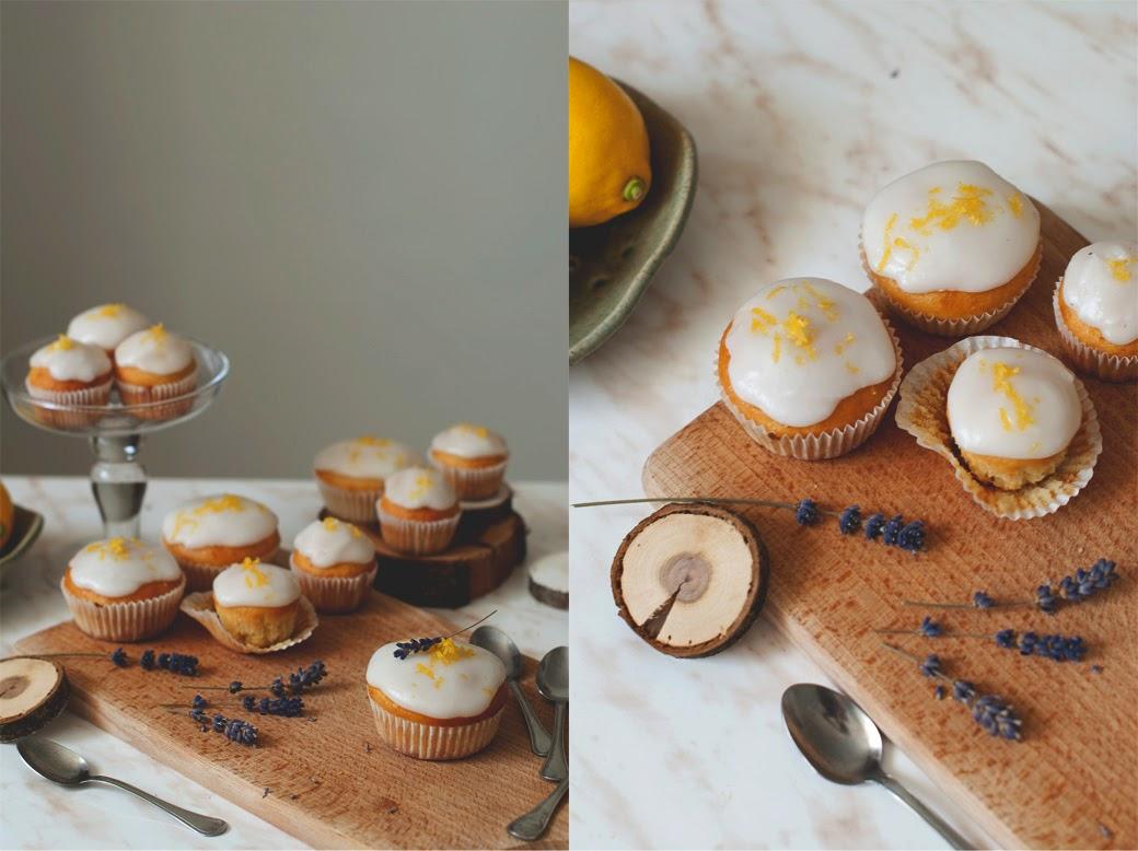 citronove cupcakes