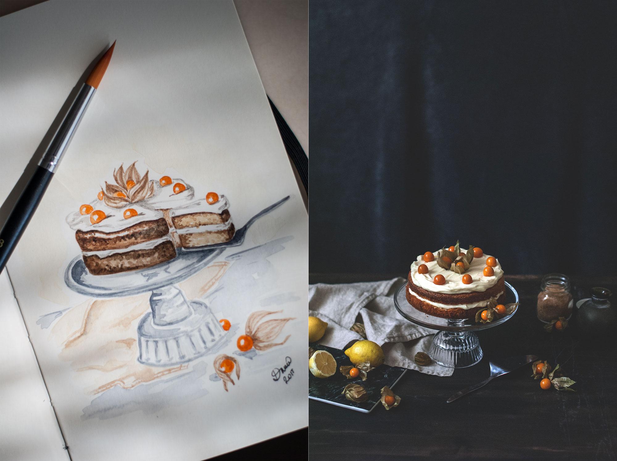 mandlova torta