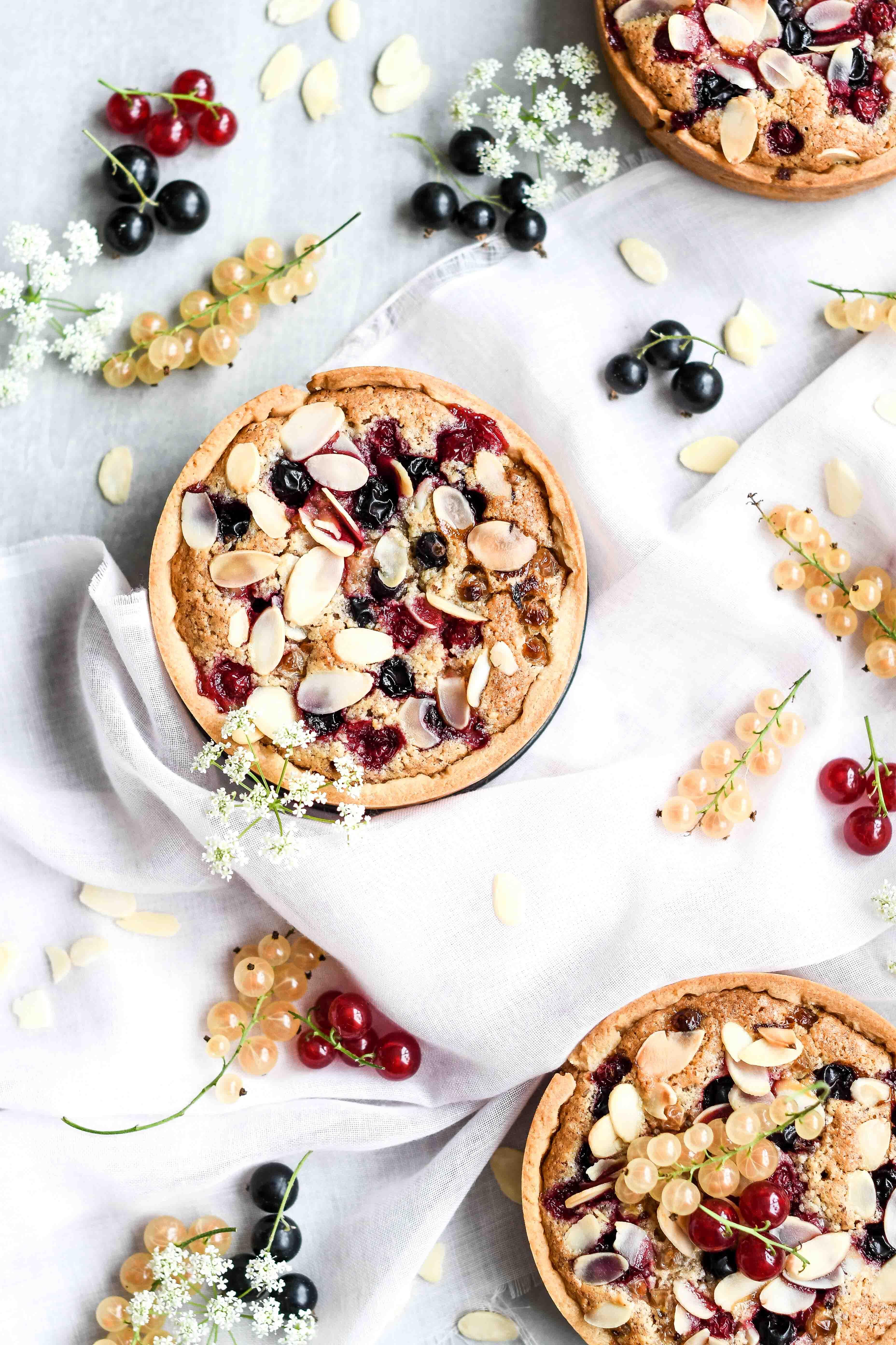 mandlový tart / almond tart