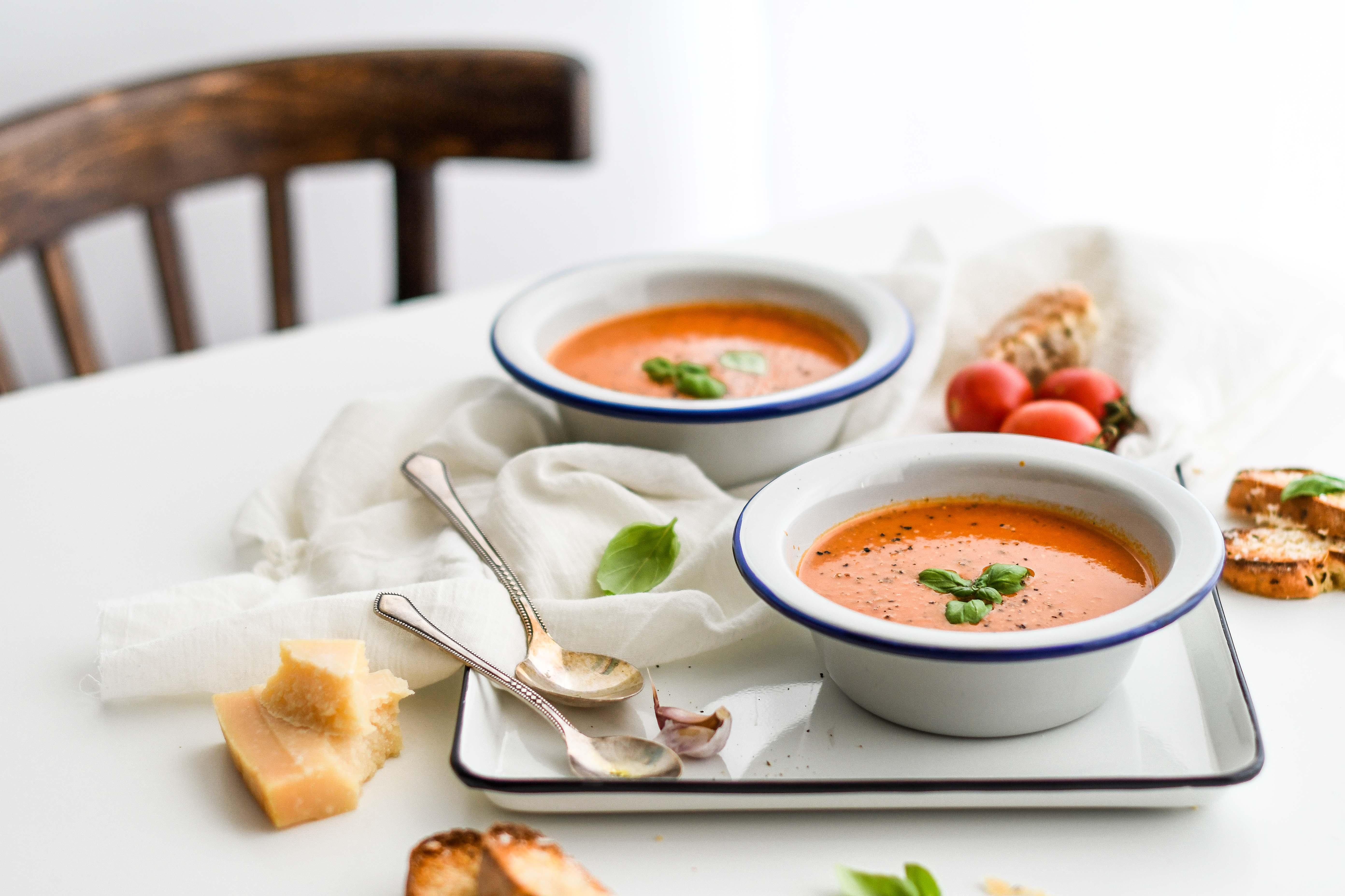 paradajkova polievka / tomato soup