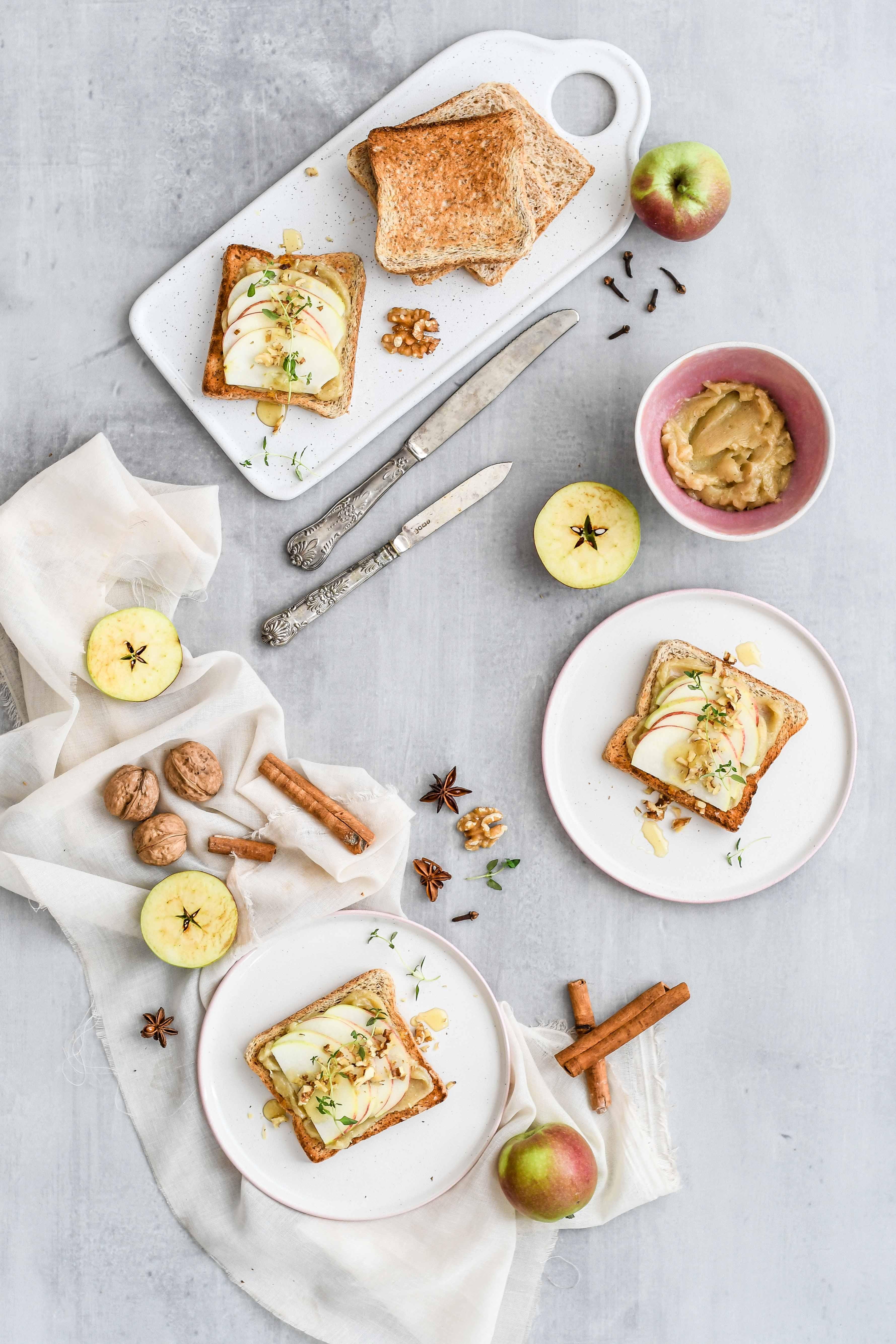 toasty s medovym maslom