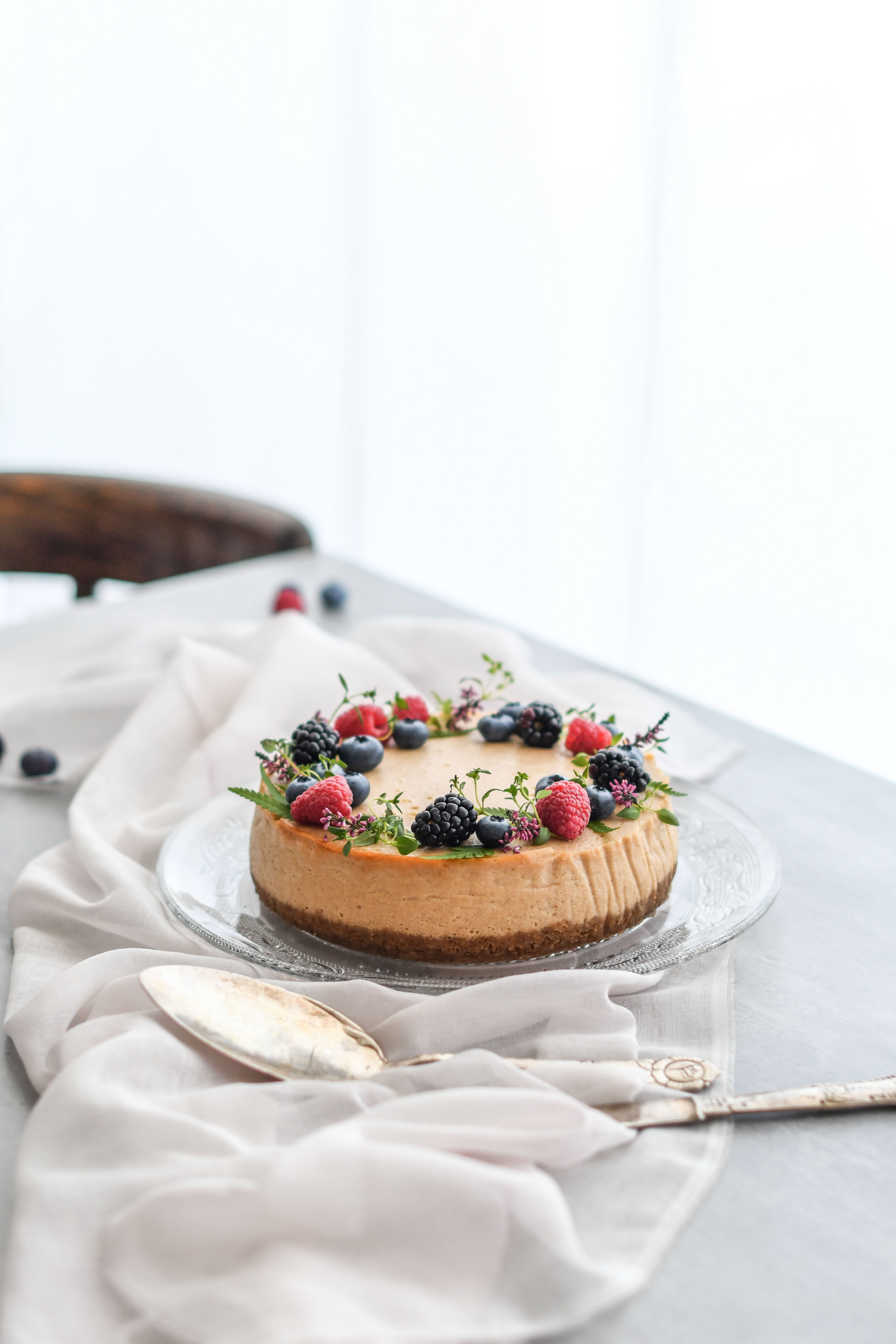 arasidovy cheesecake / peanutbutter cheesecake