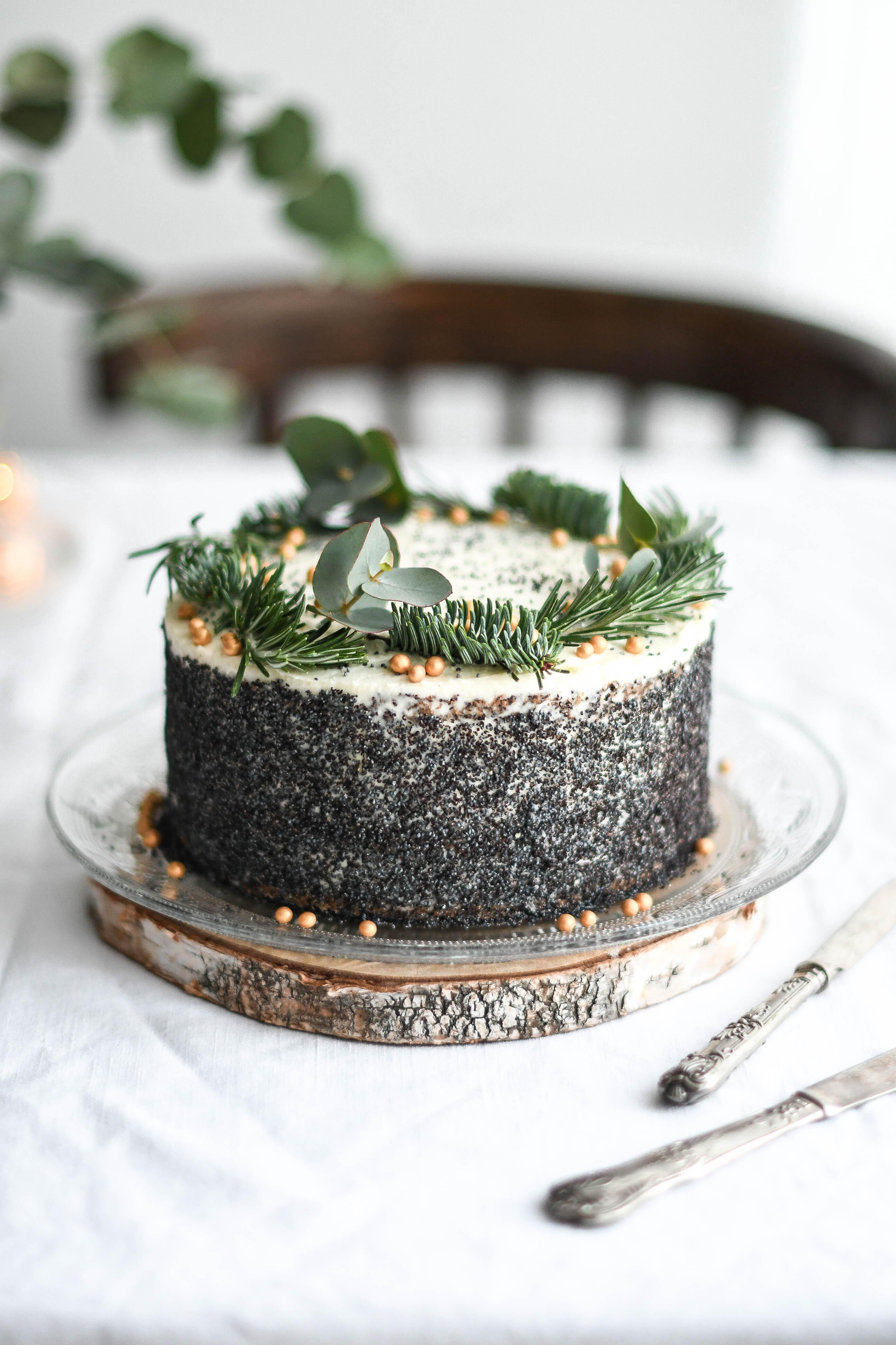 makova torta / poppy seed cake