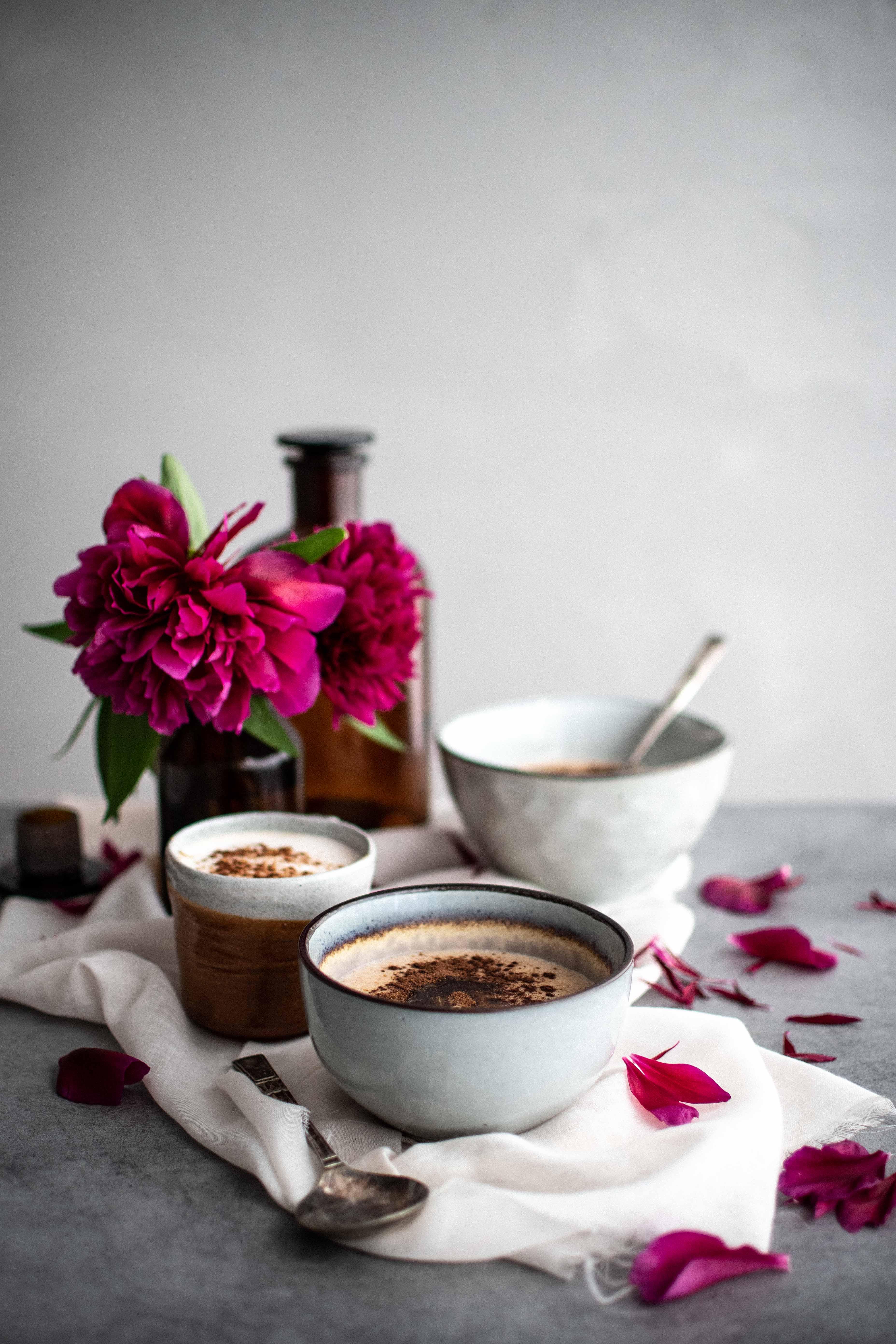 spaldova krupicova kasa | semolina porridge photography