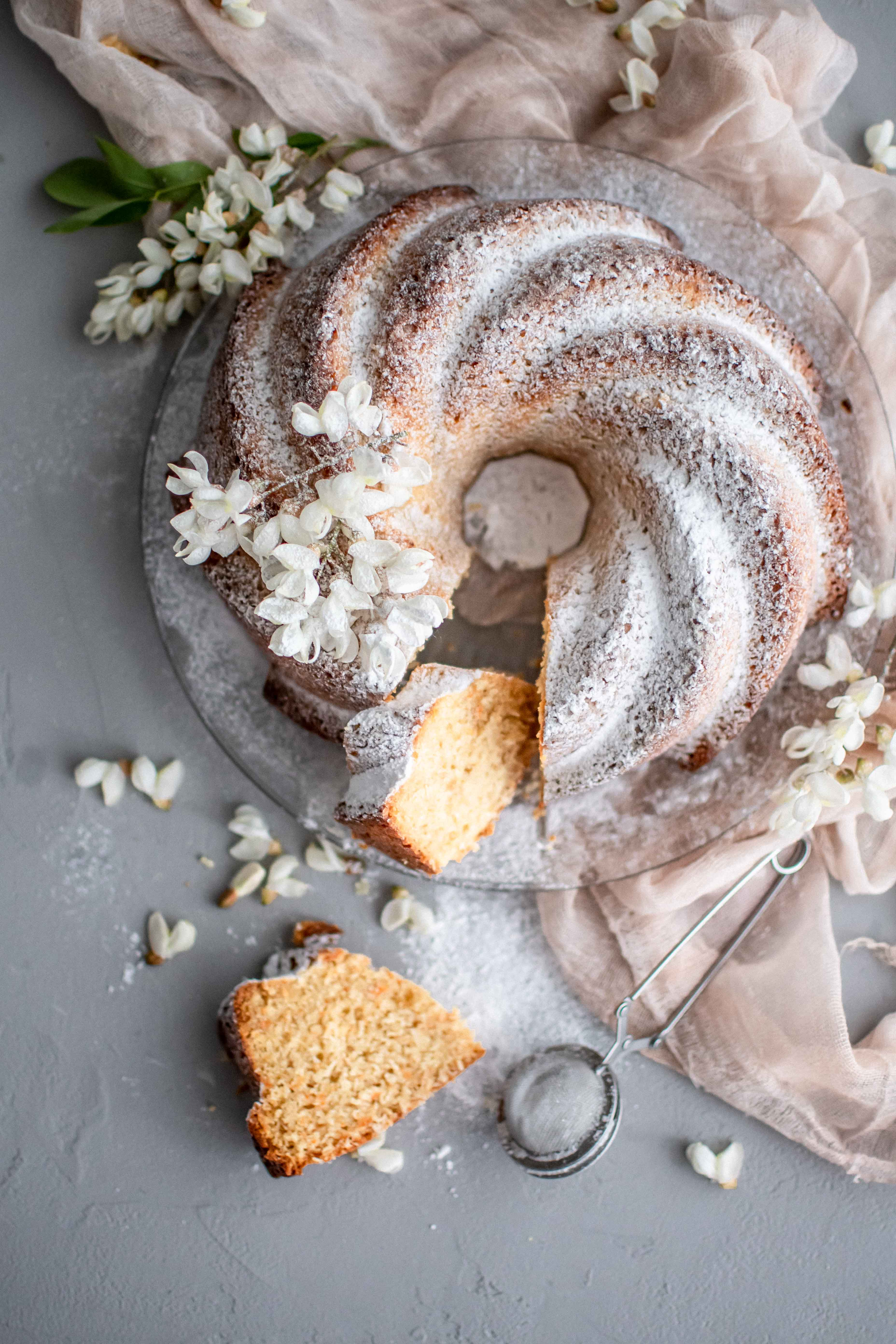 Mrkvova babovka | carrot bundtcake photography