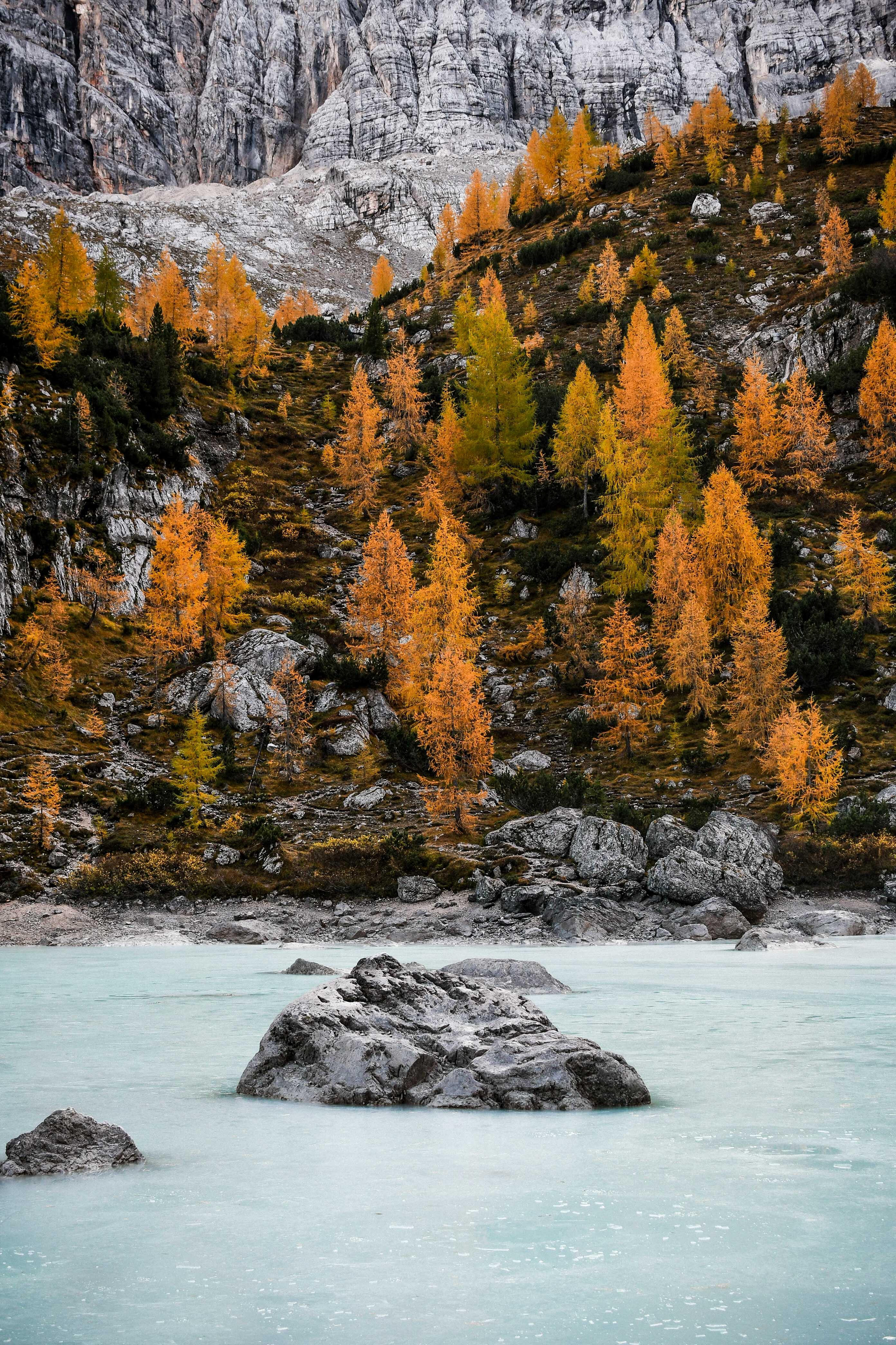 sorapis lago dolomity