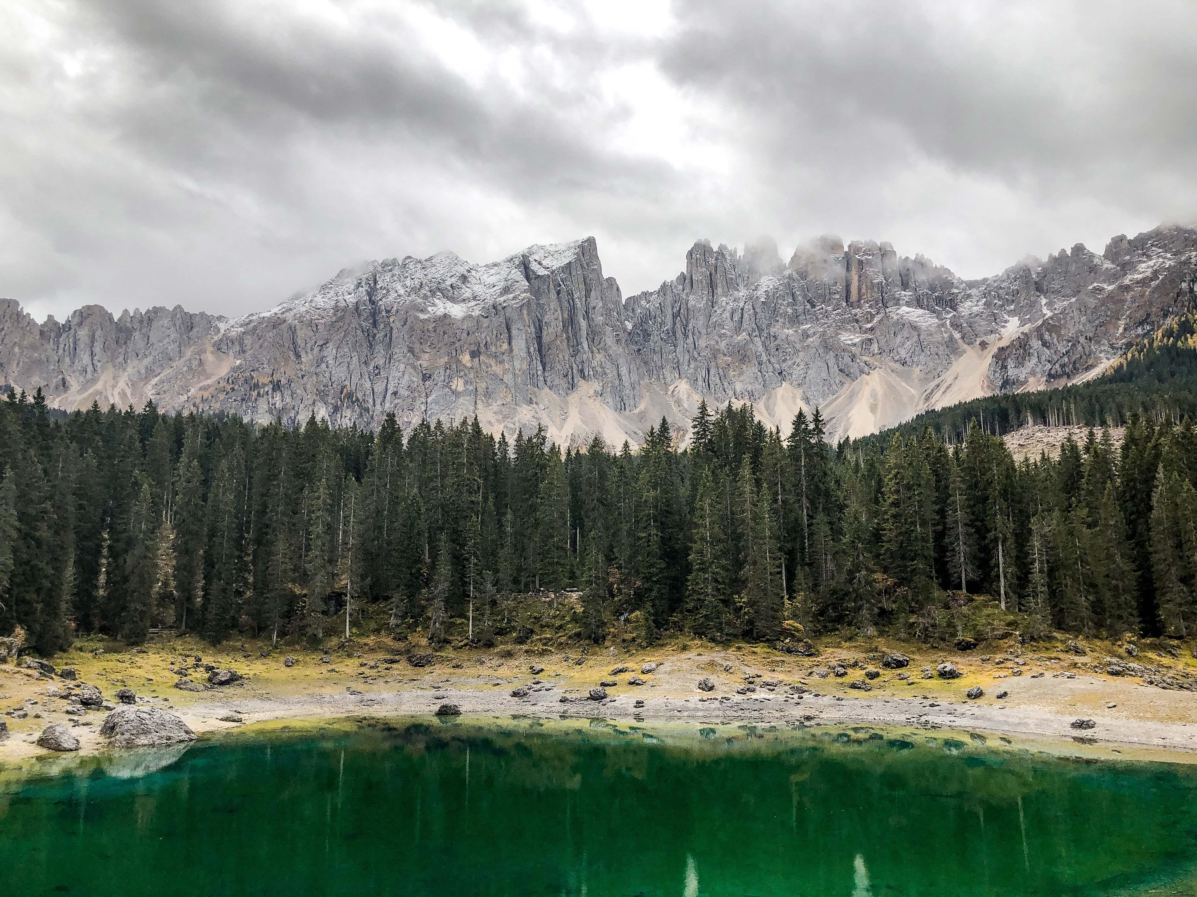 lago di carezza dolomity