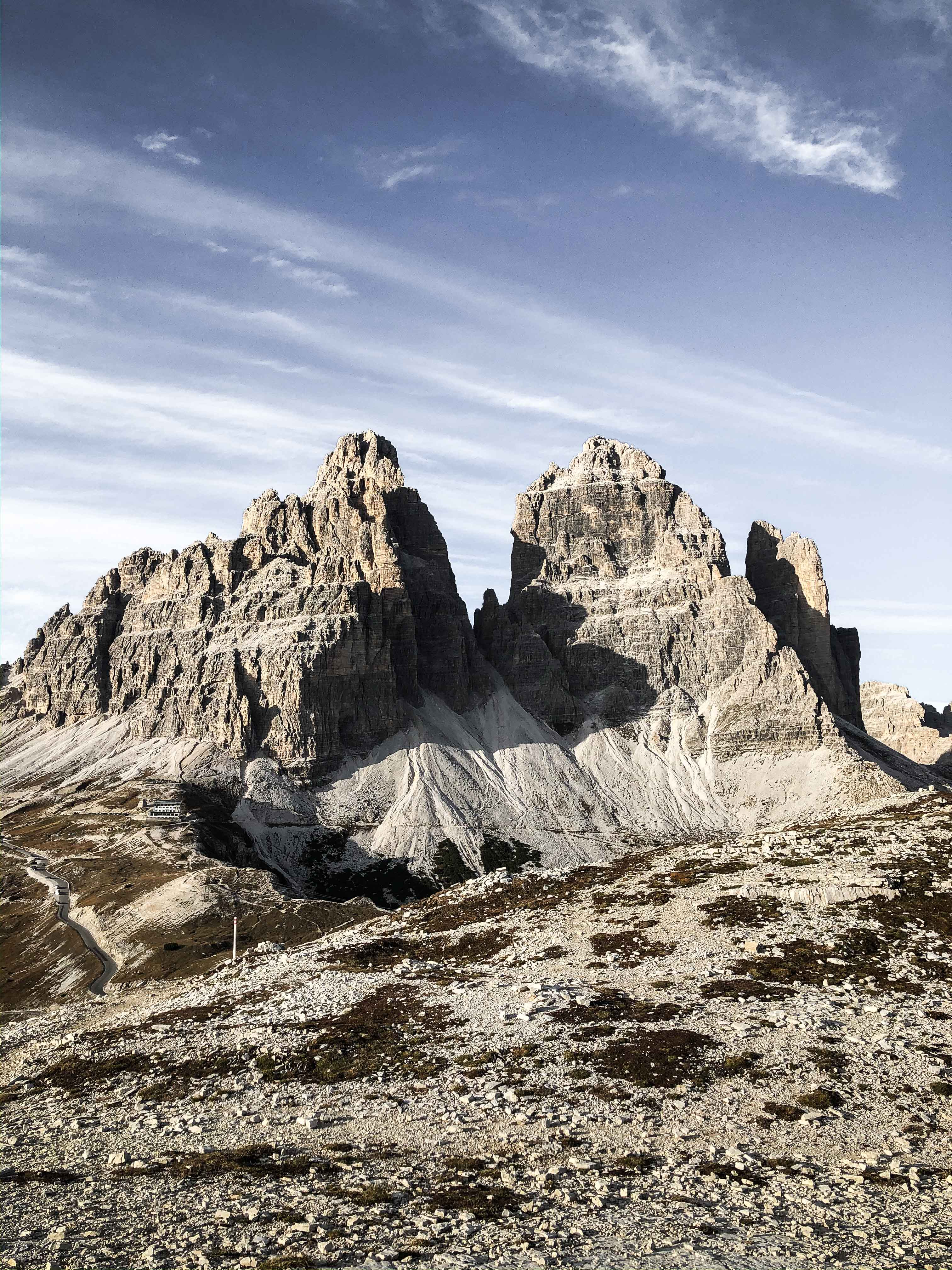 tre cime dolomity