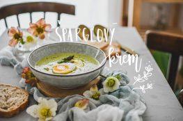 sparglovy krem asparagus cream photography