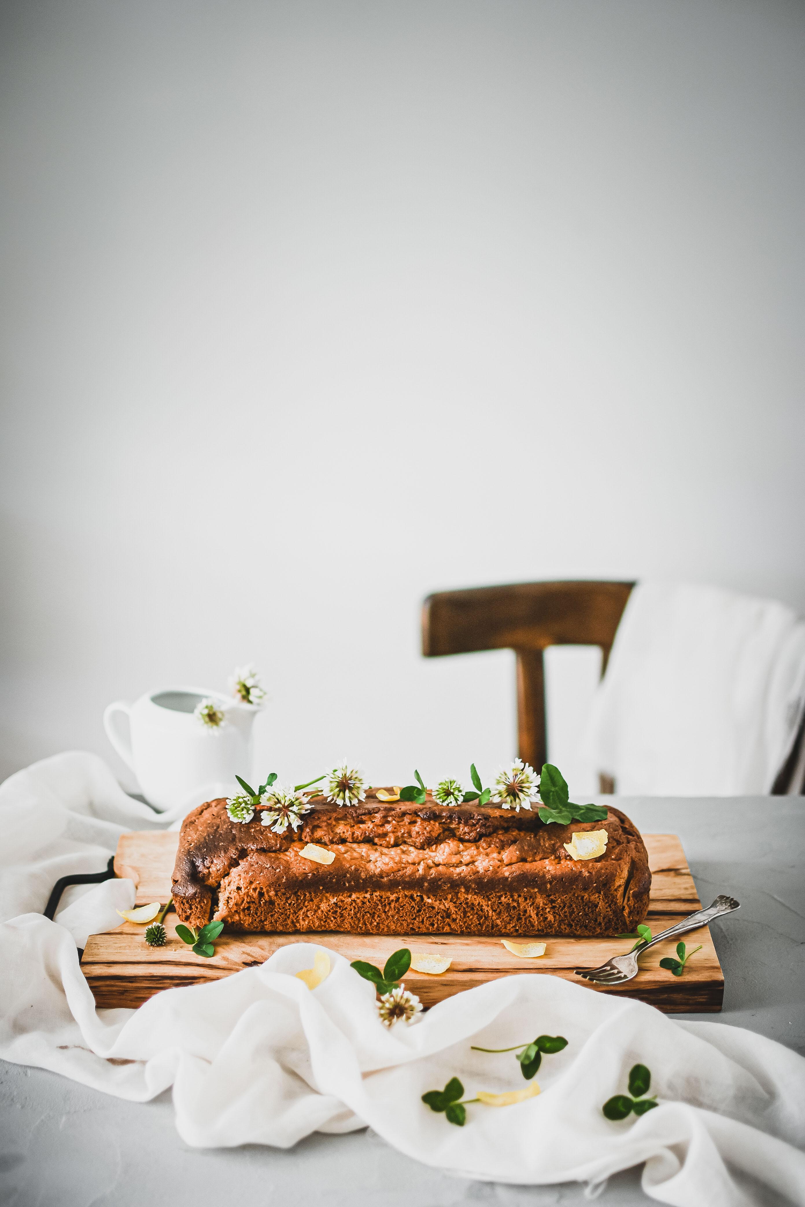 banana bread loaf banánový chlebík photography