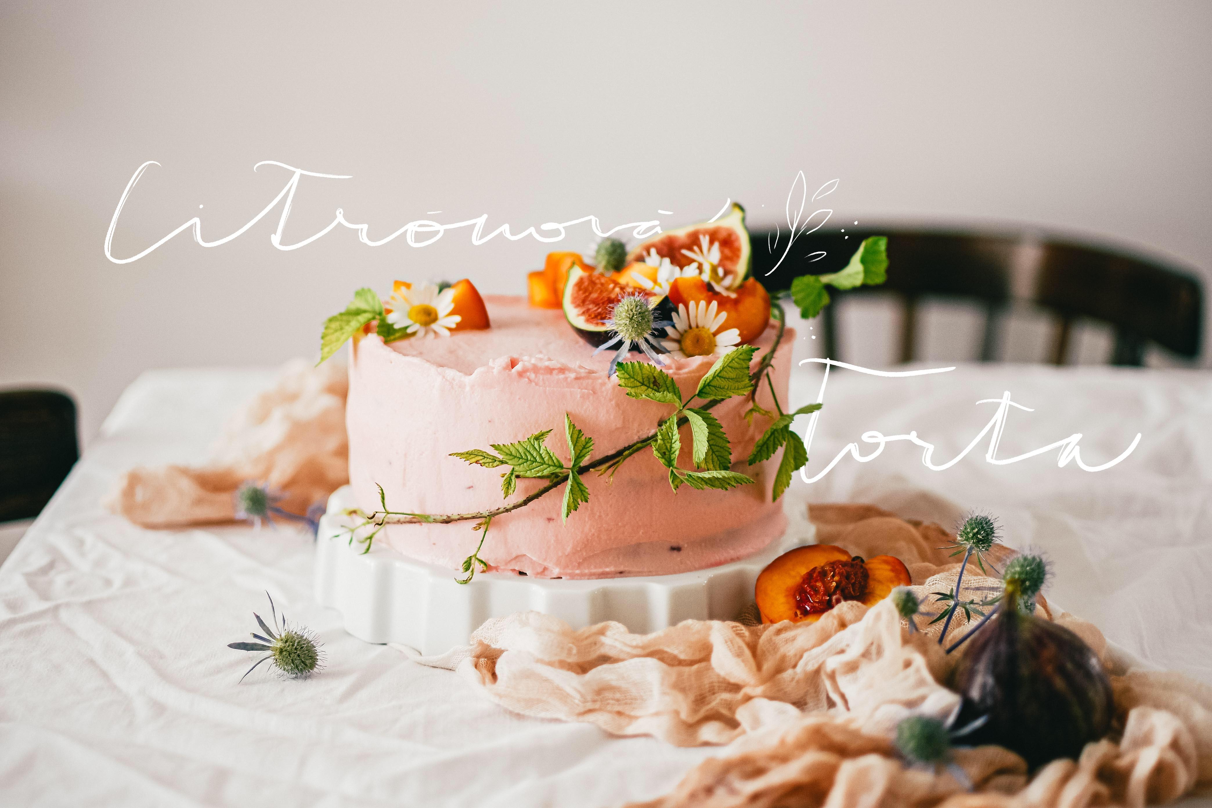 lemon cake citronova torta