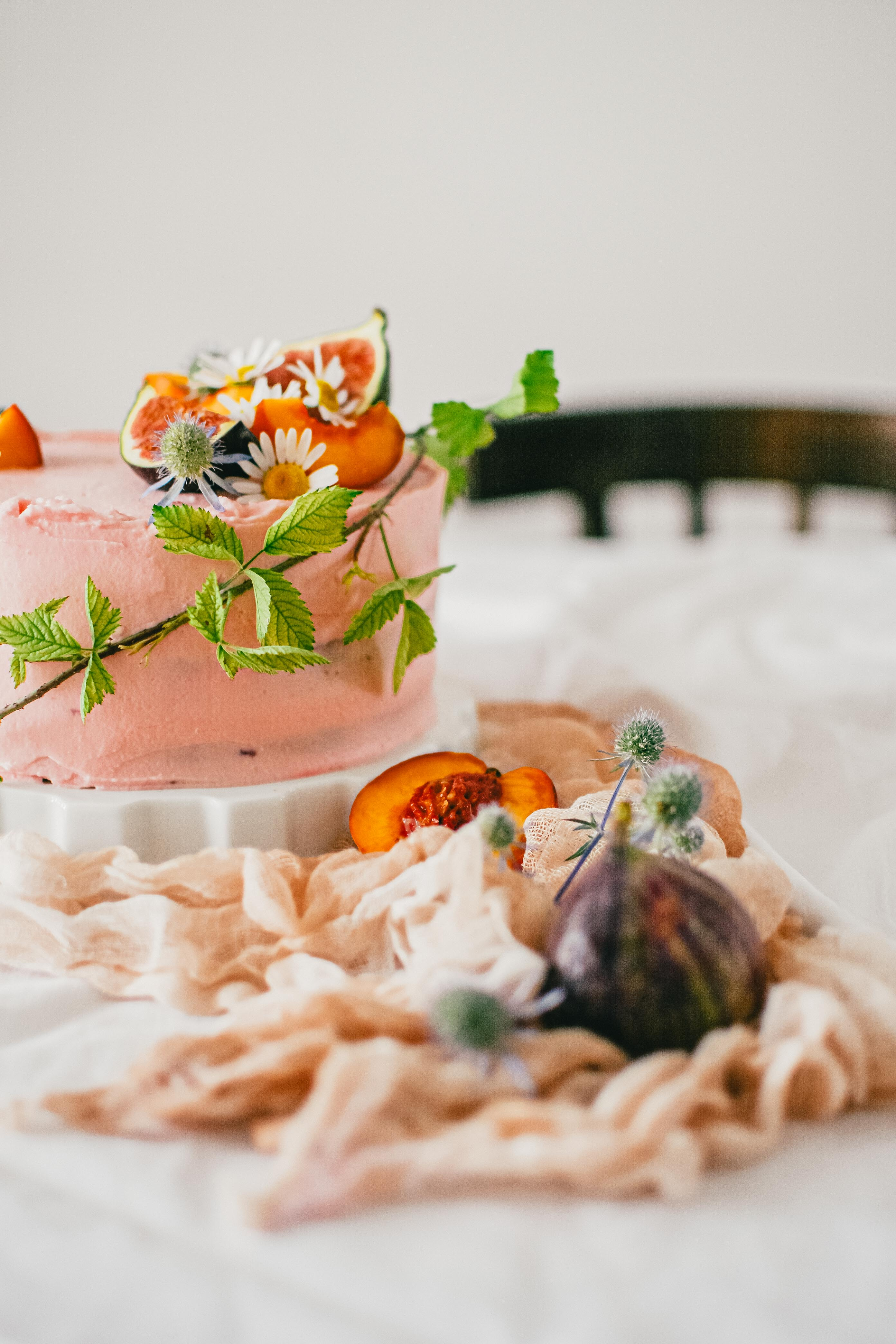 citronova torta lemon cake photography