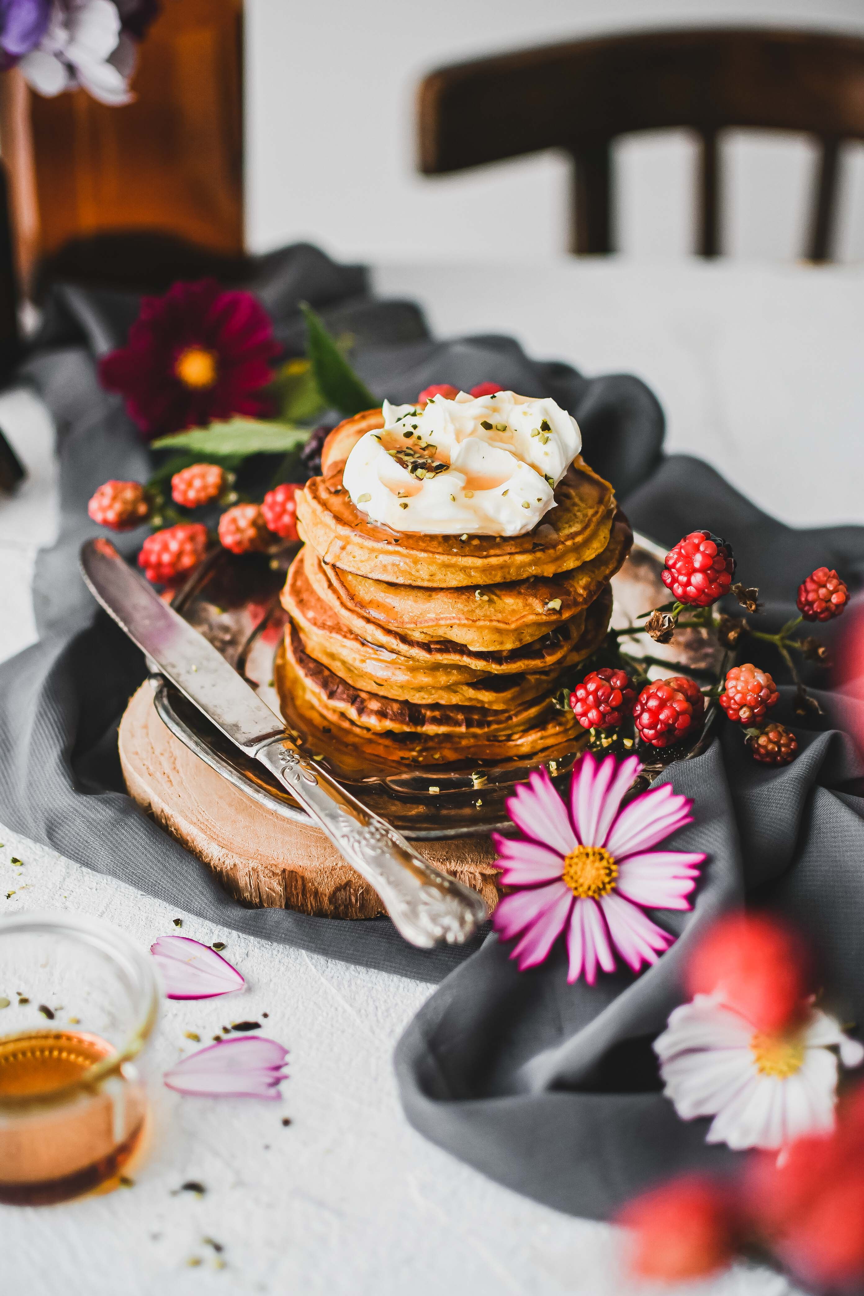pumpkin pancakes tekvicove lievance photography