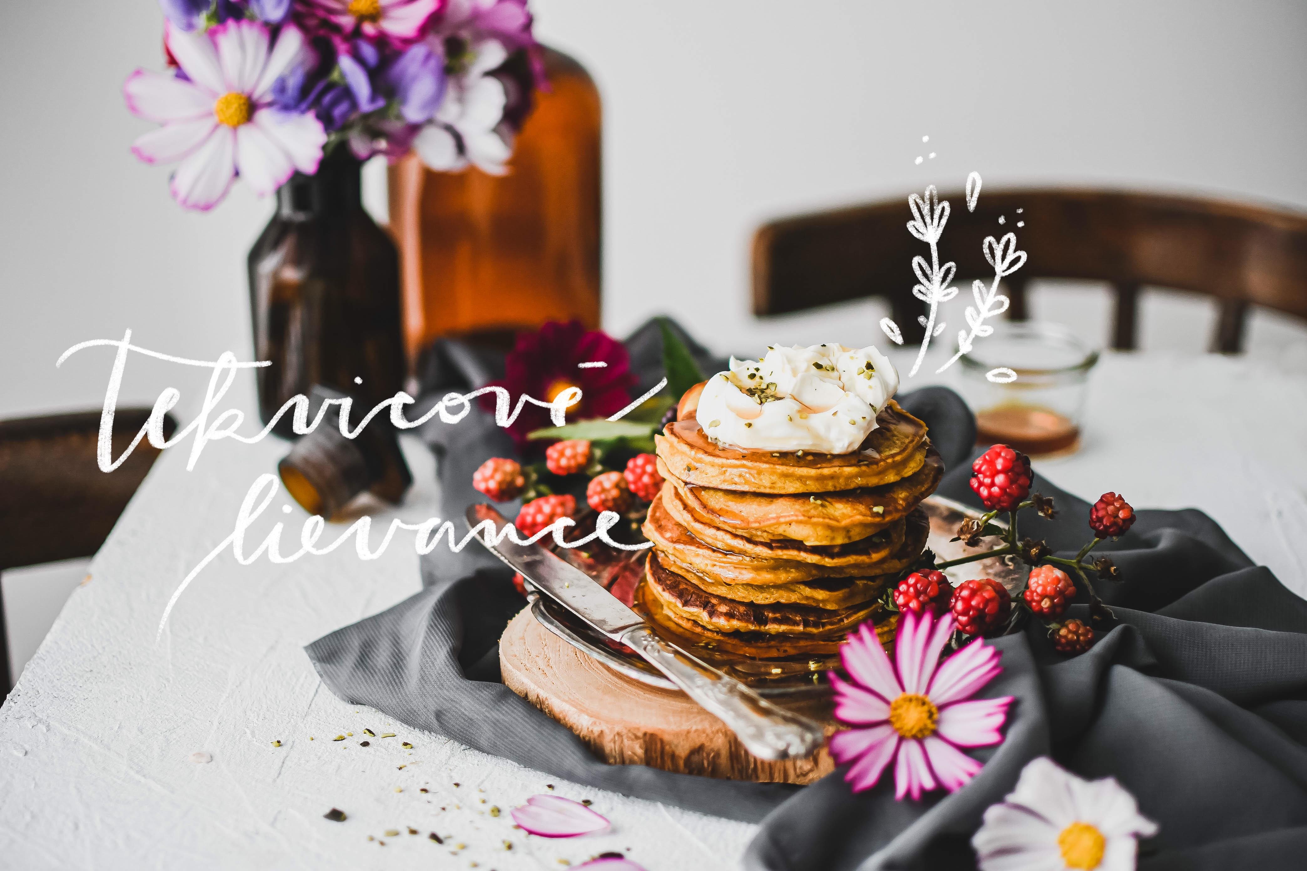 tekvicove lievance pumpkin pancakes