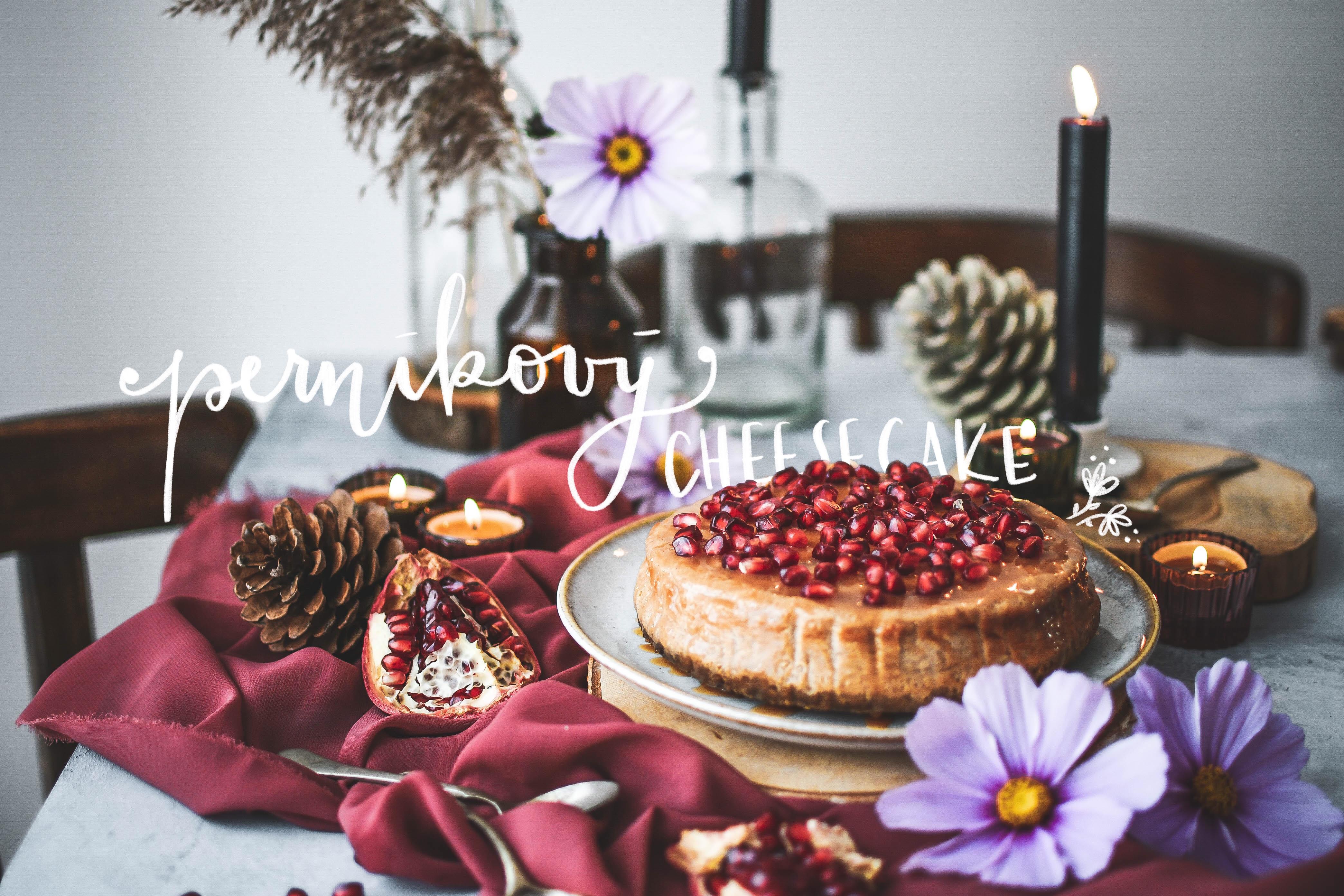 salted caramel pernikovy cheesecake