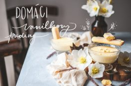 vanilla pudding creme anglaise domaci puding