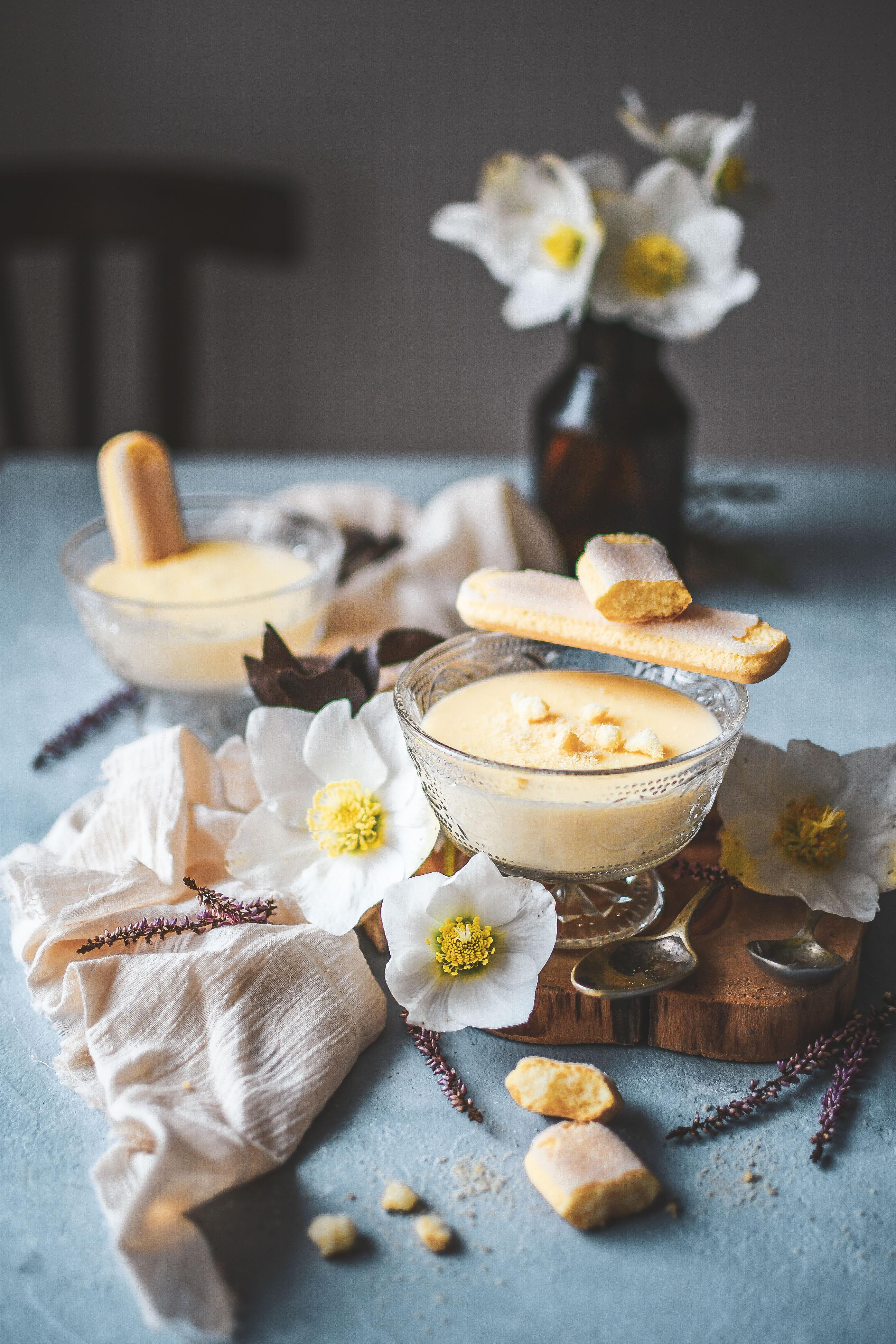vanilla pudding creme anglaise domaci puding photography