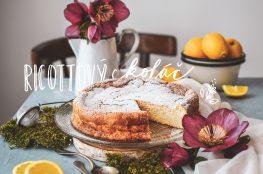 ricotta cake-ricottovy kolac photography