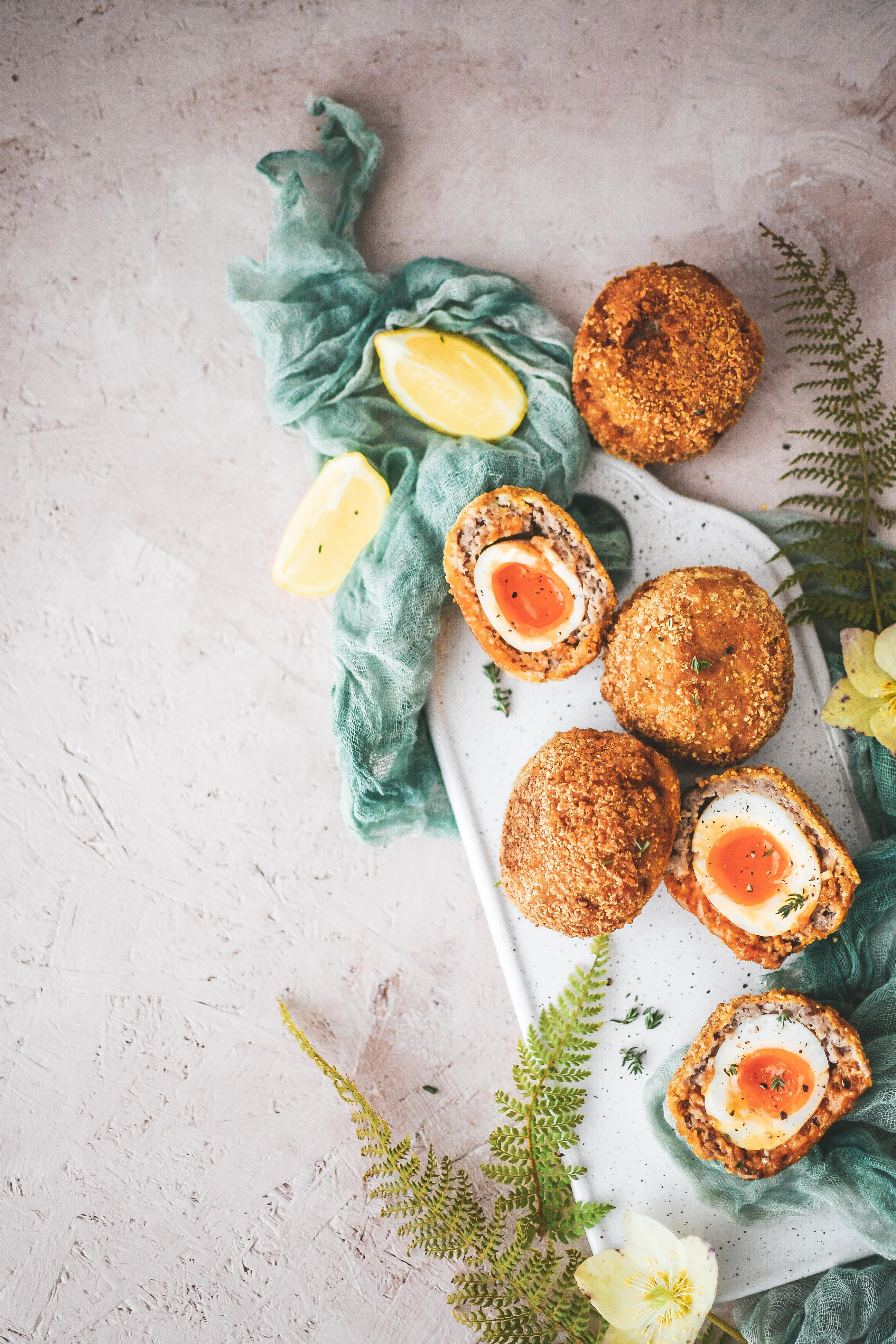 scotch eggs photography